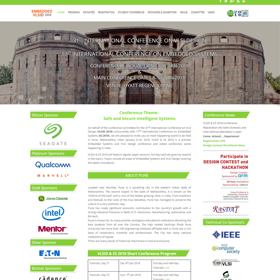 Embedded and VLSI Design Conference